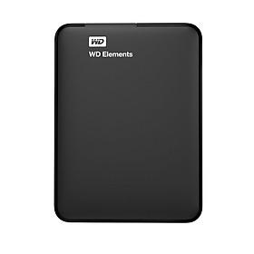 Ổ Cứng Di Động WD Elements 500G 2.5 USB 3.0 - WDBUZG5000ABK - Hàng Chính Hãng