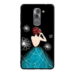 Ốp lưng viền TPU cho điện thoại Huawei GR5 2017 - Girl 04