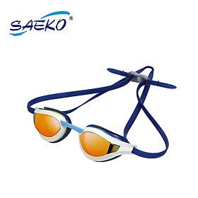 Kính bơi S68UV Carrina Mirror chính hãng Saeko - Kính tráng gương chống chói - Thời trang