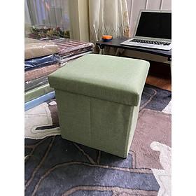Hộp đựng đồ đa năng kết hợp ghế ngồi - Hình vuông 31*31*31cm