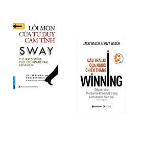 Combo 2 cuốn sách: Lối Mòn Của Tư Duy Cảm Tính + Câu trả lời của người chiến thắng