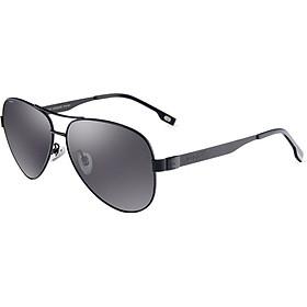 VEGOOS polarized sunglasses men's frog mirror driving mirror sunglasses glasses 3119 sand black frame gray tablets