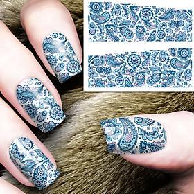 Sticker dán trang trí móng tay