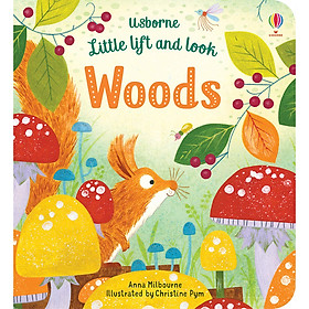 Sách Usborne Little lift and look Woods