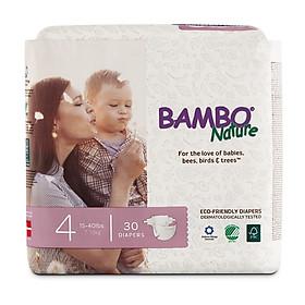 Tã Dán Em Bé Hữu Cơ Bambo Nature - gốc Đan Mạch - 7-18kg - L30 - 30 miếng
