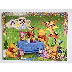 Tranh ghép hình Gnu - Combo 3 tranh gỗ ghép hình 60 mảnh cho bé