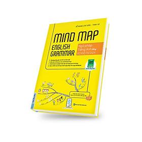 Mindmap English Grammar - Ngữ pháp tiếng Anh bằng sơ đồ tư duy (tặng kèm bookmark cute)