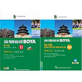 Combo Sơ cấp 2 ( Giáo Trình Hán Ngữ Boya Sơ Cấp 2 + Giáo Trình Hán Ngữ Boya Sơ Cấp II - Sách Bài Tập Kèm Đáp Án ) tặng kèm bookmark