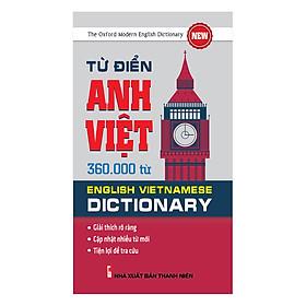 Từ Điển Anh Việt 360.000 Từ
