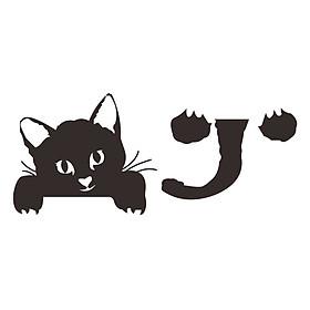 Miếng Dán Công Tắc Hình Mèo