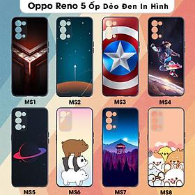 Ốp Lưng Dẻo Cho Oppo Reno 5 In Hình Case- Hàng Chính Hãng