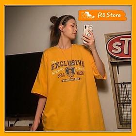Áo thun Unisex nam nữ tay lỡ form rộng EXCLUSIVE phong cách hiphop- Áo phông 2 màu siêu đẹp RÔ STORE AT29