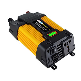 Modified Sine Wave Inverter High Frequency 6000W Peak Power Inverter DC 12V to AC 220V Converter Car Power Charger