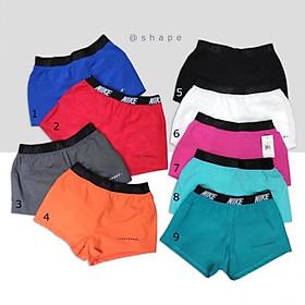 Quần tập nữ quần short boxing N.k