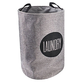 Giỏ Đựng Đồ Giặt JYSK Enar Vải Tổng Hợp / Nhựa / Nhiều (39 x 58 cm)