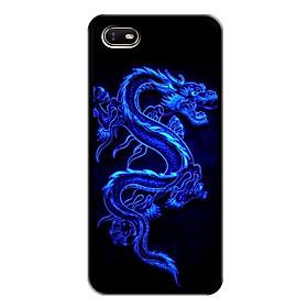 Ốp lưng cứng cho điện thoại Oppo A1K - Viền dẻo - 0270 DRADON02 - In hình Rồng - Hàng Chính Hãng