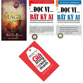 Combo sách kinh tế hay , The magic Phép màu + Đọc vị bất kỳ 2 ( combo 2 cuốn ) + giá trong chiến lược