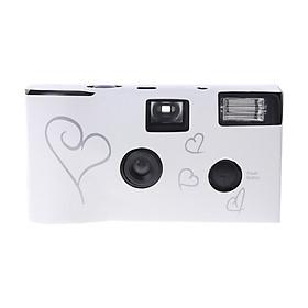 Film Cameras 36 Photos Power Flash HD Single Use Disposable Film Camera