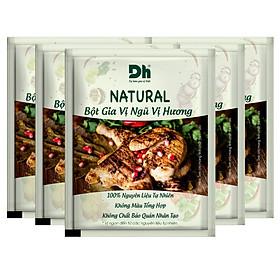 Combo 5 gói Natural Bột Gia Vị Ngũ Vị Hương 10gr Dh Foods