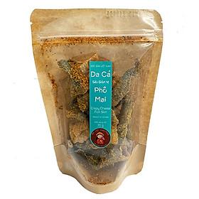Da cá sấy giòn ( 3 vị : trứng muối / bơ tỏi / phô mai) thương hiệu An Lợi túi 70g (món ăn vặt, đặc sản Việt Nam)