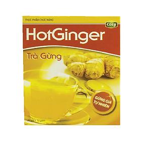 Trà Gừng Hòa Tan HotGinger (Hộp 20 gói x 10g )