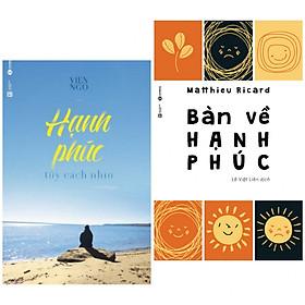 [Download Sách] Combo sách tôn giáo - tâm linh số 1: Bàn Về Hạnh Phúc + Hạnh Phúc Tùy Cách Nhìn (tặng kèm bookmark thiết kế aha)