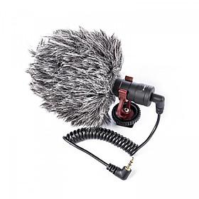 Hình đại diện sản phẩm Microphone Phỏng Vấn Chuyên Nghiệp BY-MM1