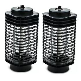 Bộ 2 Đèn bắt muỗi và côn trùng hình tháp 3D Tower Tiết Kiệm Điện
