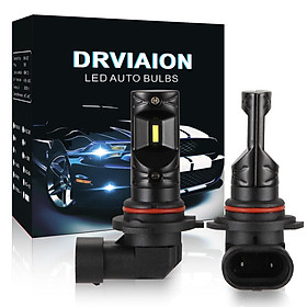 2PCS 9005/HB3 80W 6500K Super Bright LED Fog Light Bulbs Car Driving Lamp