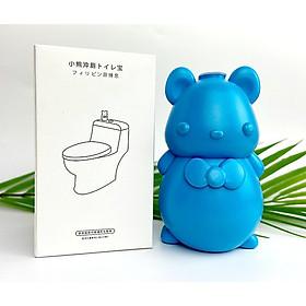 Combo 04 chú gấu thả bồn cầu Nhật bản, Vệ Sinh Bồn Cầu, Giúp Hỗ Trợ Giảm Thông Tắc Bồn Cầu Và Khử Mùi, Diệt Sạch 99% Vi Khuẩn