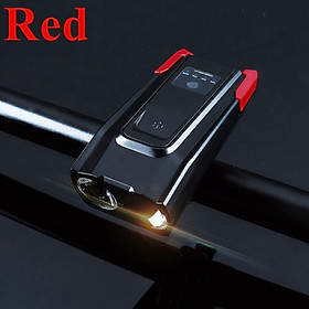Bicycle Bell Bicycle Lamp Durable 5 Mode Cycling Equipment Warning Light
