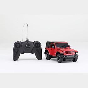 Xe điều khiển 1:24 Jeep Wrangler JL_màu Đỏ RASTAR R79500/RED