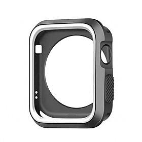 Ốp Đồng Hồ Silicone Cho Apple Watch Iwatch Dòng 1 2 3 (Màn Hình 28&42mm)