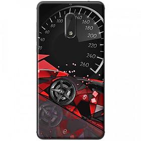 Hình đại diện sản phẩm Ốp lưng dành cho Nokia 6 mẫu Đồng hồ tốc độ đỏ