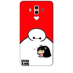Ốp lưng dành cho điện thoại Huawei MATE 10 Big Hero Baby