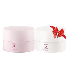 Kem Dưỡng Trắng Da Ban Đêm Senka White Beauty Glow Gel Cream 50g - Tặng Kem dưỡng trắng da & giảm thâm nám ban ngày Senka White Beauty UV Cream 50g SPF 25 PA ++