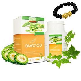 Viên uống tiểu đường Diagood giúp ổn định đường huyết (60 viên)- Tặng kèm vòng tay sức khỏe
