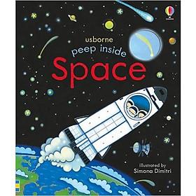 Usborne Peep Inside Space