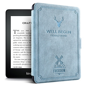 Bao Da Cover Dành Cho Máy Đọc Sách Kindle Paperwhite Gen 4 (10th) Tuần Lộc