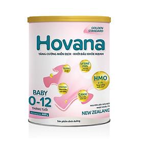 Sữa bột Hovana Baby hỗ trợ tiêu hóa cho bé từ 0 đến 12 tháng-0