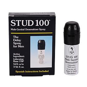 Chai xịt tinh chất Stud 100 Anh Quốc - tinh chất kéo dài thời gian - 13 ml