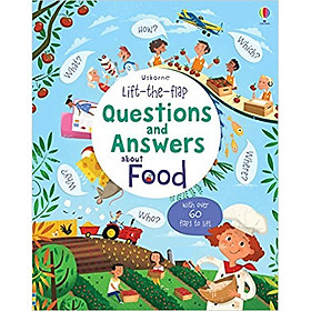 Usborne Lift-the-flap Questions and Answers about Food