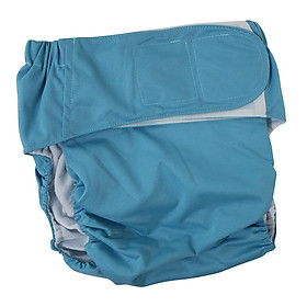 Reusable Adult Cloth Diapers Pants Washable One Size Incontinence Aid