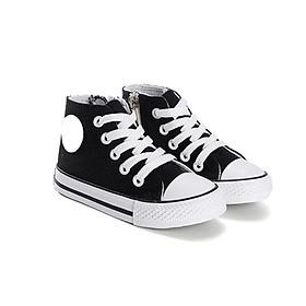 Giày thể thao cho bé trai và bé gái T11 đen