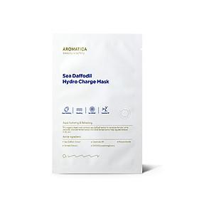 Mặt nạ dưỡng ẩm chiết xuất hoa thủy tiên Aromatica Sea Daffodil Hydro Charge Mask 19g