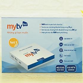 Android TV Box MyTV Net 4GB/32GB Mới 2020 - Tích hợp điều khiển giọng nói, truyền hình hơn 100 kênh HĐH Anfdroid TV, cấu hình mạnh mẽ- Hàng chính hãng