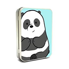 Hộp thiếc Vintage Box - Panda