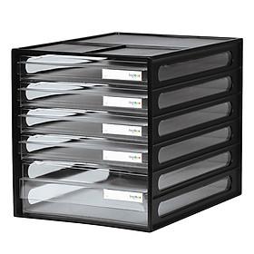 Tủ đựng tài liệu livinbox khổ A4 25 x 34 x 27 cm