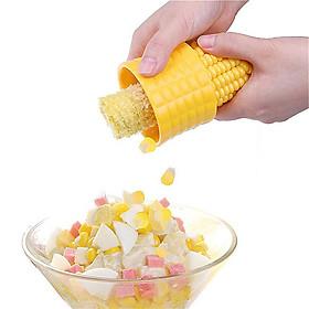 Dụng cụt tách hạt bắp ngô tươi bằng inox không gỉ cầm tay tiện lợi
