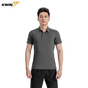 Áo phông nam có cổ KWIN chính hãng, dáng ôm khoẻ khoắn, chất liệu cao cấp thoáng mát